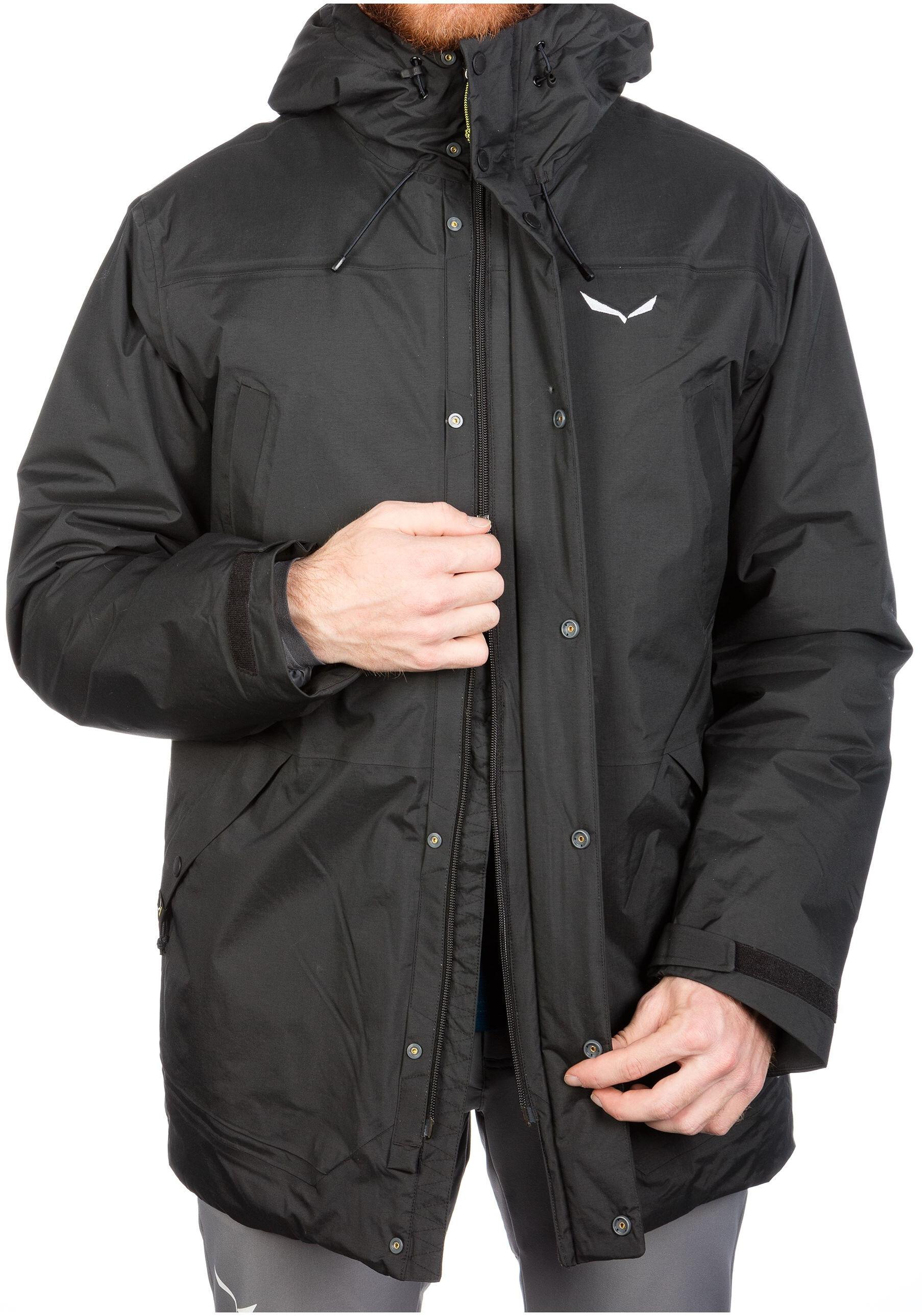 new concept 25c6f f3512 SALEWA Fanes PTX/TW CLT Jacket Men black out
